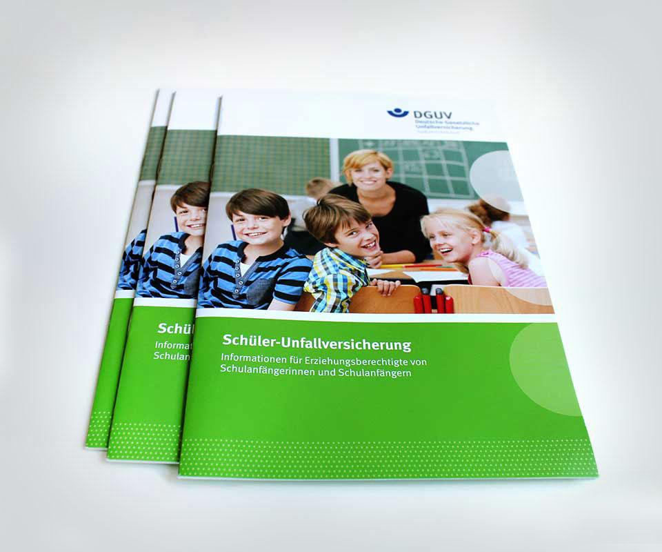 DGUV Broschüre zur Schüler-Unfallversicherung