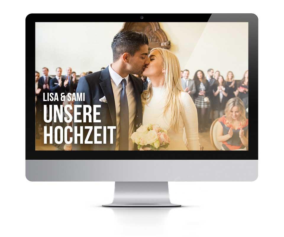 Hochzeitseite von Lisa & Sami Allagui